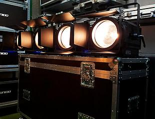 focos Fresnel de iluminación
